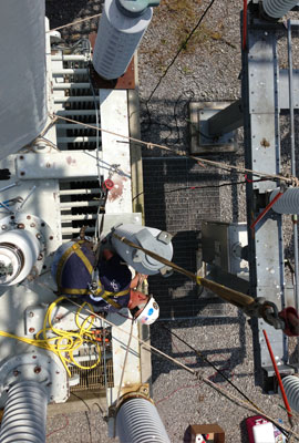 Substation Electrical Contracting Work and Support